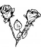 Stickers Fleurs - Mon Sticker Déco