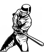 Stickers Baseball - sport américain - Mon Sticker Déco