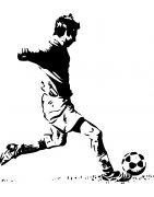 Stickers Football- déco sport - Mon Sticker Déco