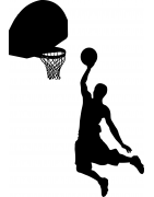Stickers Basket Ball - déco sport - Mon Sticker Déco